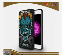 New Skull /Animal TPU Cover ,Custom Print DIY Mobile Phone Case With Relief Painting