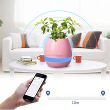 Bluetooth music garden pots for sale planting pots cheap plant pot