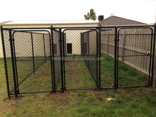 China wholesale galvanized outdoor dog kennel / dog kennel for sale/ unique dog kennel