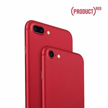 2017 New design custom color back cover housing for iphone 7 matte red housing