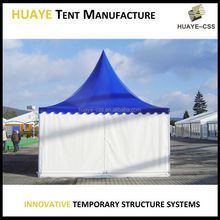 Good quality attractive clear roof tent transparent high peak tent 4x4m pagoda wedding tent