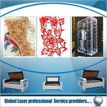 Laser cutting and engraving for leather, cloth, wood,Knitted Fabric Cutting Machine