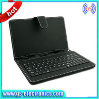 13.3inch tablet PC leather keyboard case