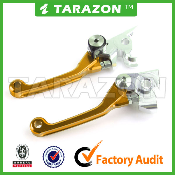 TARAZON brand wholesale alloy aluminum CNC SUZUKI RMZ 250 lever for motocross