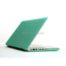 DDC factory price transparent clear acrylic PC hard shell briefcase laptop cover for macbook pro custom Mint Green