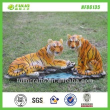 Polyresin Tiger Figurines