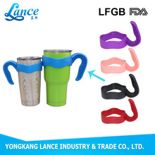 hoting sell PP double wall plastic tumbler handle for thermos bottles