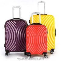 Hot ABS PC Trolley Luggage Hard