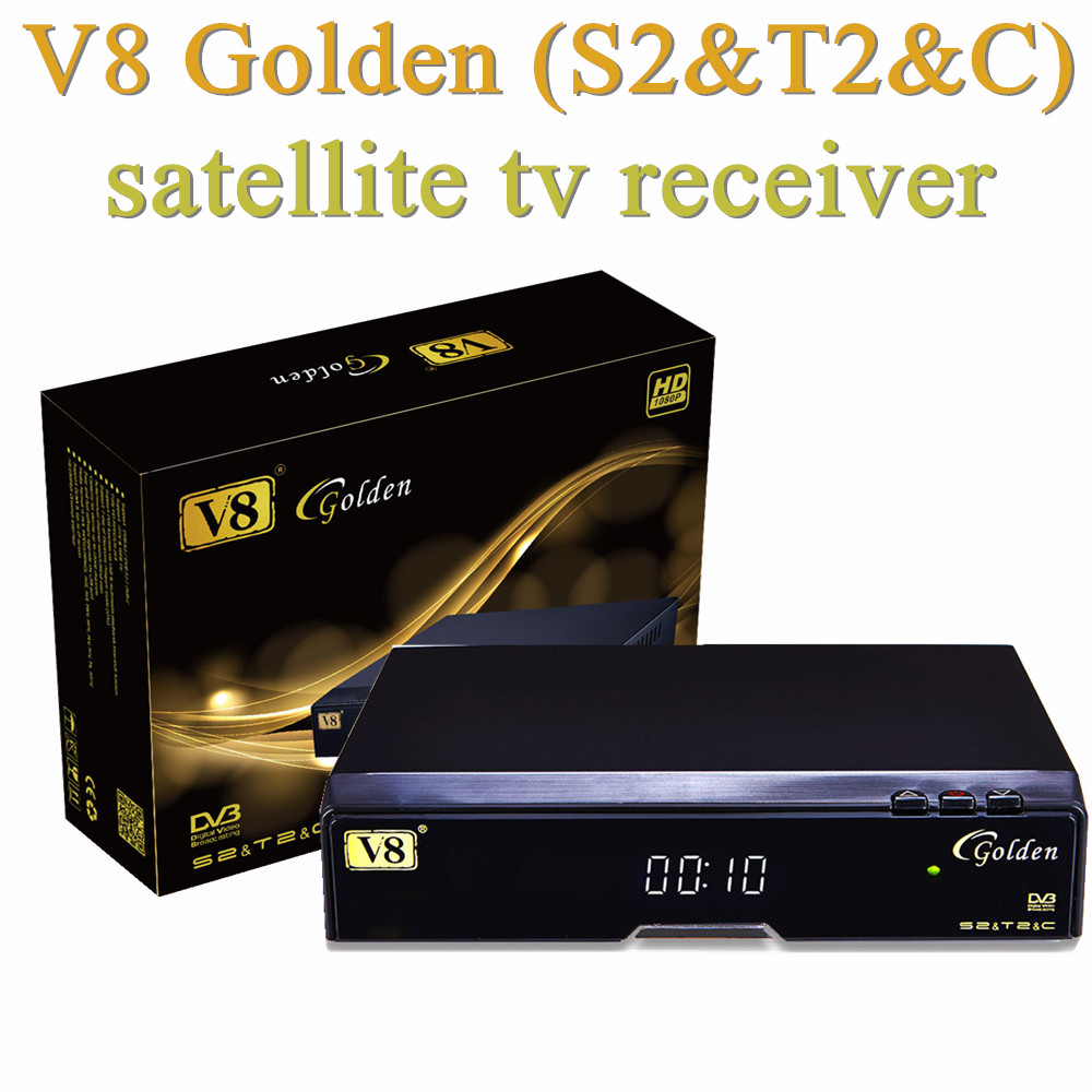Android <strong>Satellite</strong> Receiver V8 Golden Digital Receiver <strong>Satellite</strong> with USB WIFI