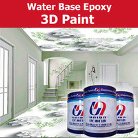 water based primer paint for 3D epoxy paint home deco