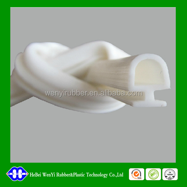 white color silicone bulb seal