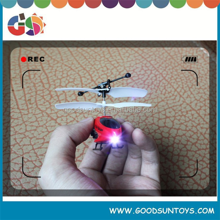 Mini 3D 3.5-Channel Gyro Remote Control R/C Helicopter with Basket Kids Indoor 017485