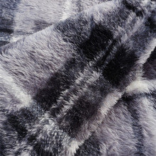 Warp stretch knitted warm 100% polyester Super Soft Long Shaggy Chic Fuzzy Fur plush fabric