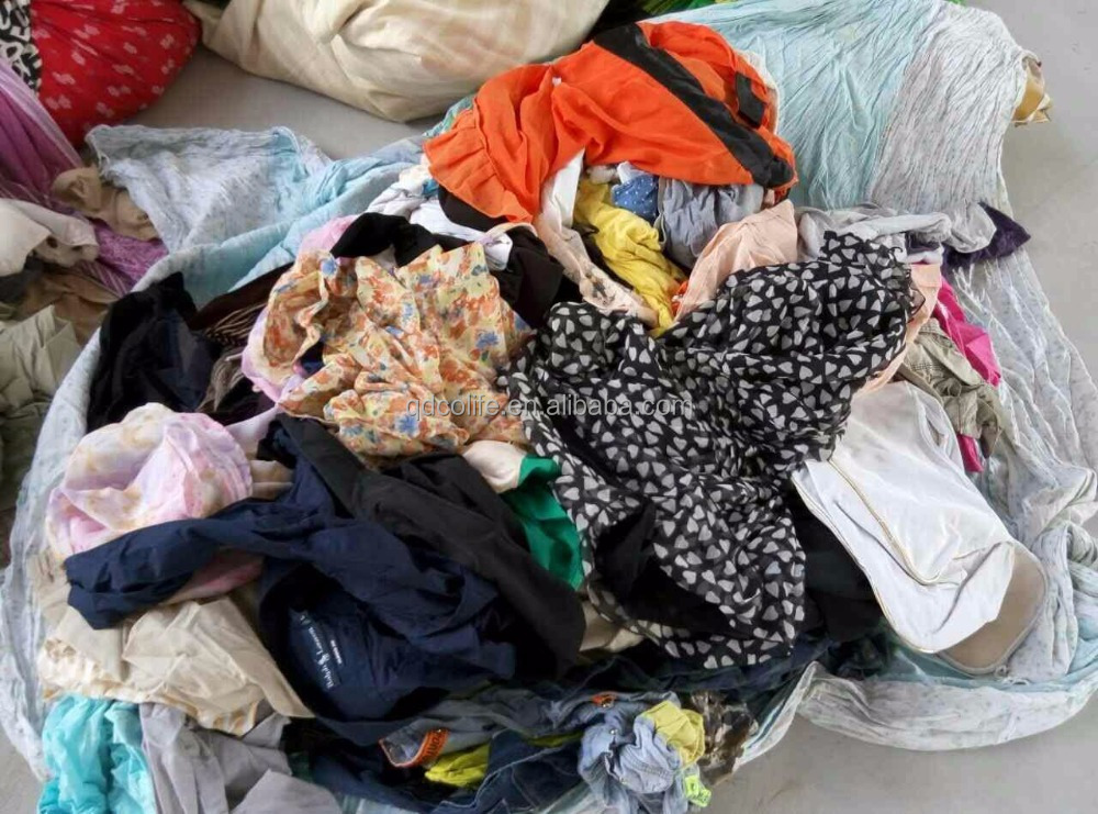 Unsorted mixed used clothing for mozambique