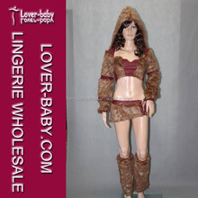 Wild Hunter Brown Furry Winter Cosplay and Costumes Casual Cosplay and Costume