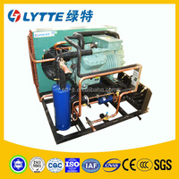 JZBF Building&Factory Use in Cooling Air Cooled Bitzer Semi-hermetic Piston Compressor Condensing Unit for Cold Room