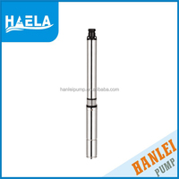 75QJD1.8/14 hanlei electric deep wel l 0.5 hp pto deep well submersible pump 2 inch diameter