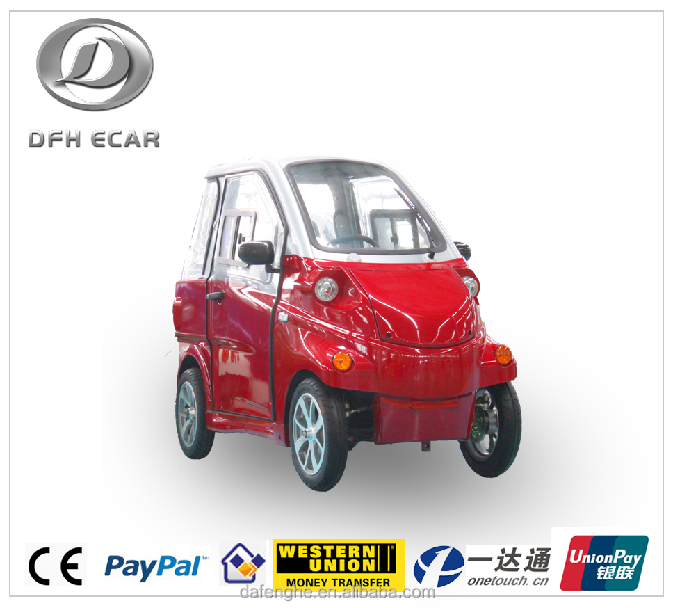 small electric car with EEC certificate for sale