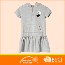 Babies Kids Dress With Hood Fancy Sports Dress