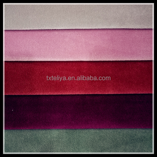 100% Poly Good Sale Twill Ultra Soft Velvet Fabric For Sofa