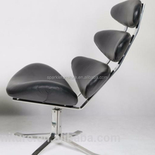 living room furniture Corona chair genuine leather lounge chair
