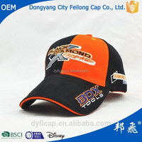 Promotional advertising cool stylish baseball cap button