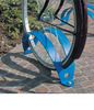 galvanized parking bike rack,parking bicycle stand,powder coated bike stand