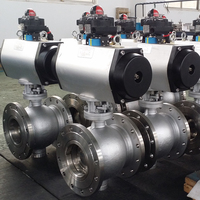 Stainless Steel Electric Actuator Trunnion Mounted Ball Valve