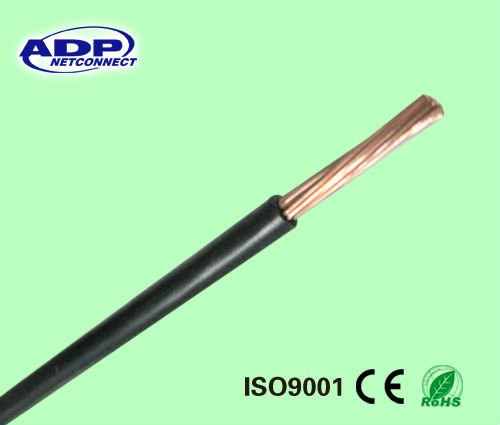 single Cu conductor PVC sheath BV electric cable for for internal wiring of electronic and electrical equipment