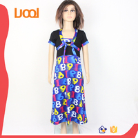 2016 newest style two piece cocktail dress for children