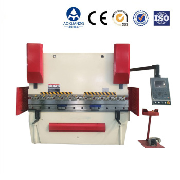CE standard cnc touch screen press brake machine steel bar metal box bending machine