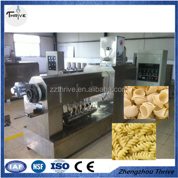 Good price gluten free pasta making machine/Italian rotini production line/vermicelli making machine