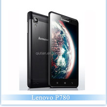 Factory Price Lenovo P780 MTK65891.2GHz Quad 1GB RAM 4GB ROM 8.0M Camera 5.0 inch screen dual sim card Android 4.2 3G Smartphone