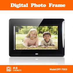 7 inch injection optical frame mould digital photo frame