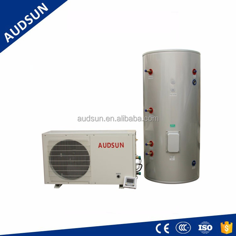 Domestic heat pump Water Heater 3.25KW,4.65kw,6.54kw,9.28kw,Water Tanks ,Water Boiler