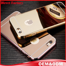 Factory direct metal phone cover for iphone 6 6s