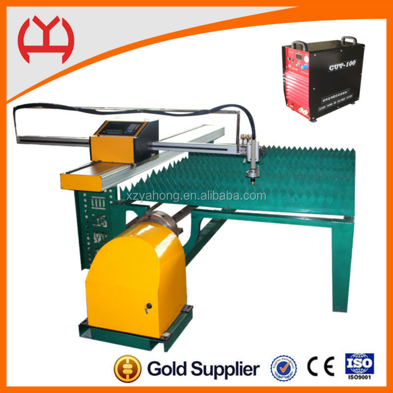 two use Digital cnc plasma portable electric steel pipe base plate cutters cutting machine for steel plate two kinds of cutting