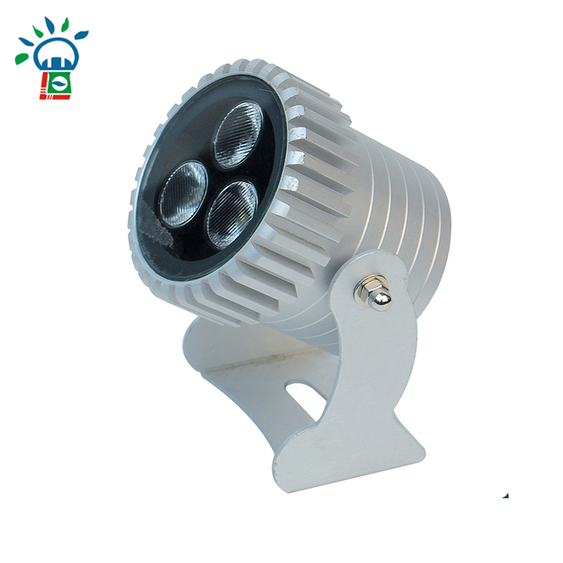 6W controled outdoor dimmable led spot light Inground pool lighting