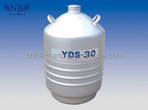 Dewar liquid nitrogen cryogenic storage tanks