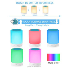 Outdoor Color Changing Tap Light Night Light with Wireless Bluetooth Speaker