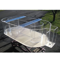 Highly transparent acrylic durable fish tank aquarium