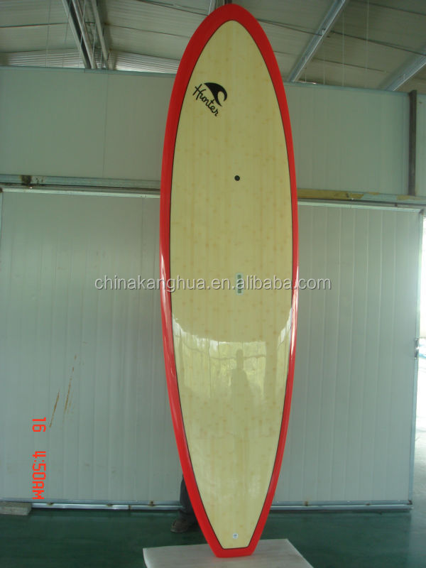 Epoxy bamboo Surfboard/EPS Sup Stand Up Paddle Board