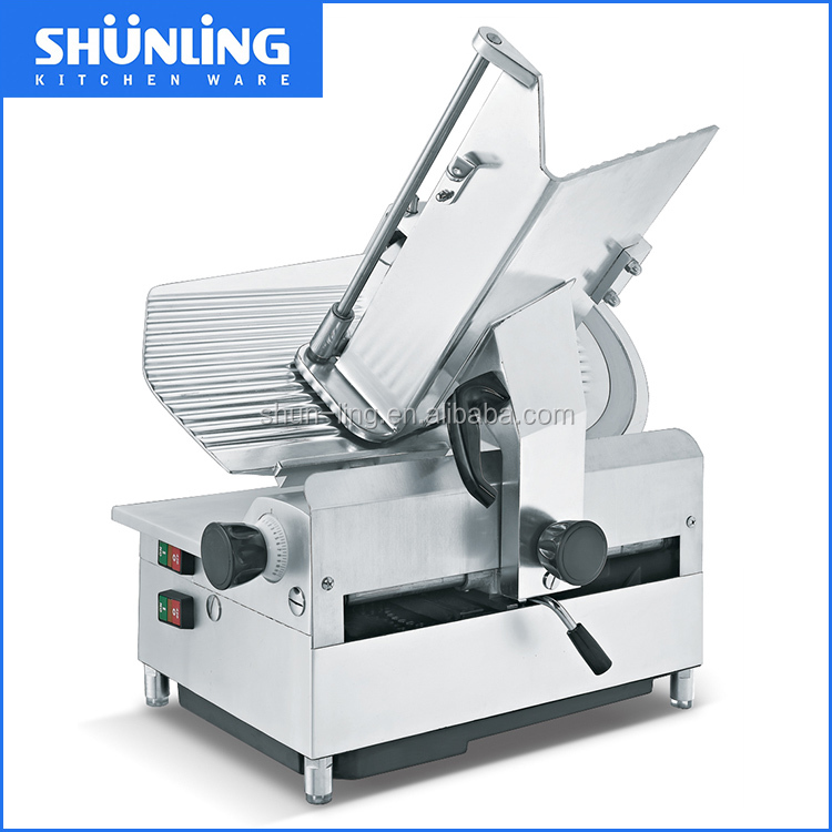 Shunling 13 inch Fully Automatic Frozen meat slicer