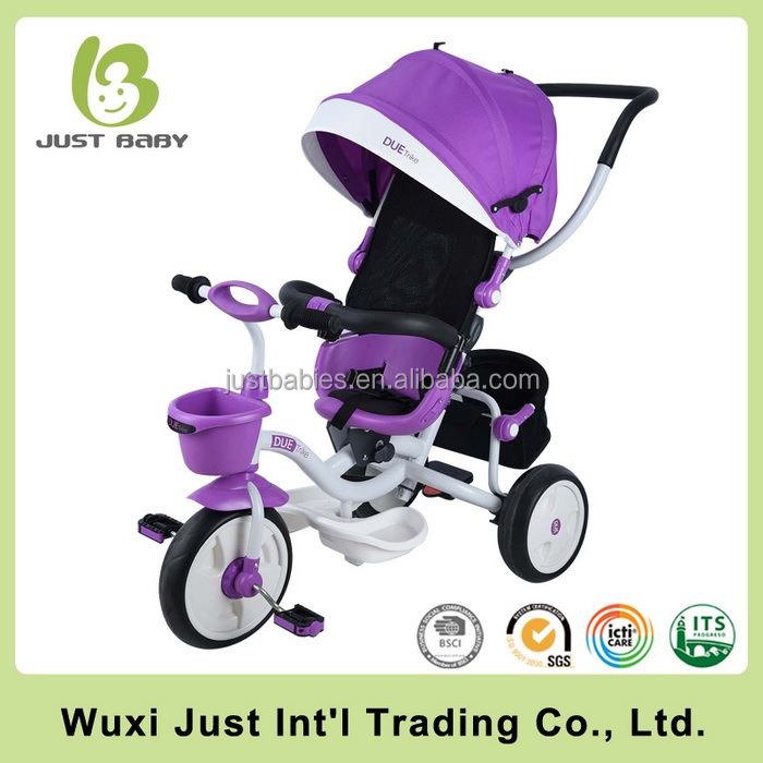 China Factory Plastic Baby Tricycle Custom Kids Toy Ride On Car