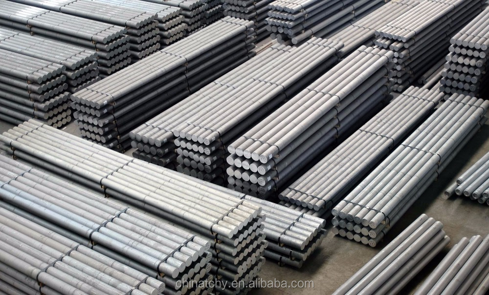 Mountain bike materials extruded aluminum bar billet 6000 series price list for aircraft