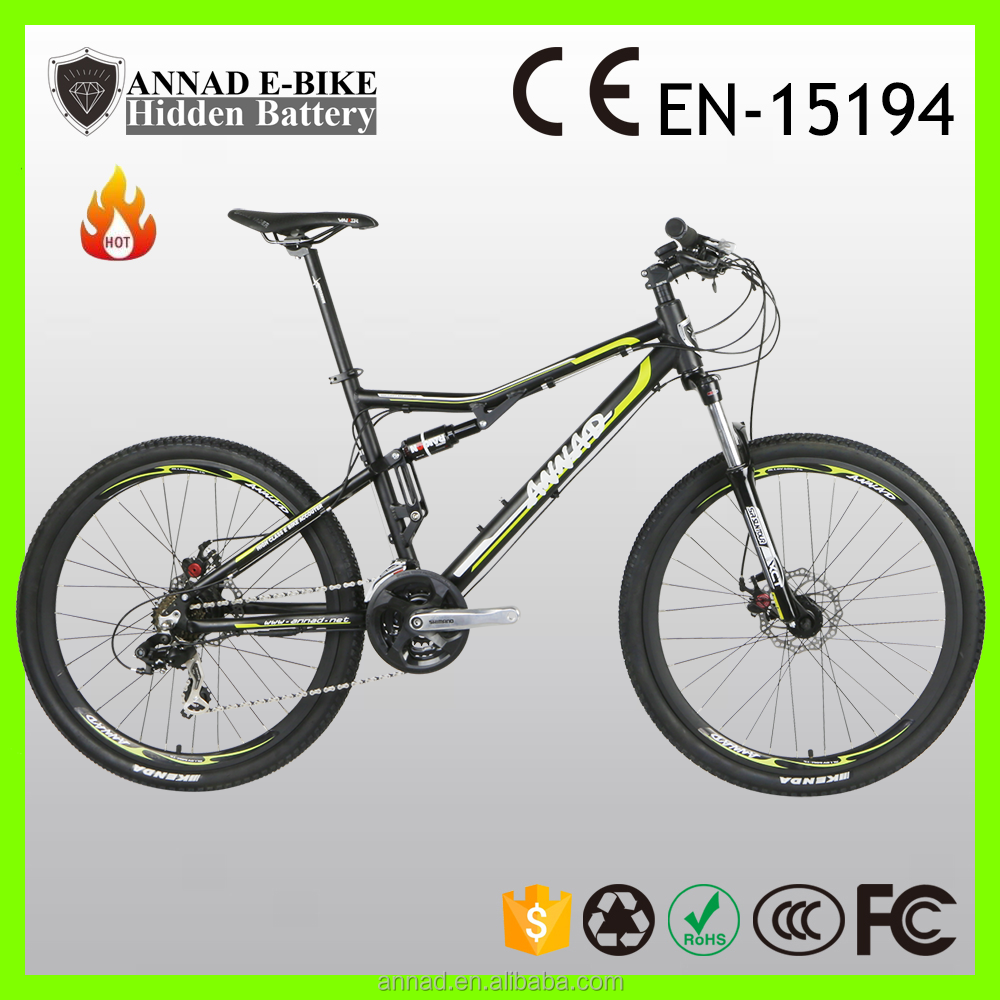 hidden battery Powerful E-bike long distance robstep
