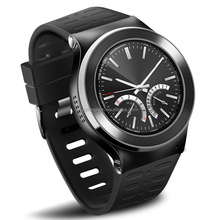 "1.33""screen WIFI 1.3G quad-core pedometer heart rate 3G WCDMA2100/850 android V5.1/5.0HD camera BT4.0 smart Watch Phone"