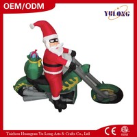 NEW Cool Santa riding a motorcycle artificial christmas tree parts