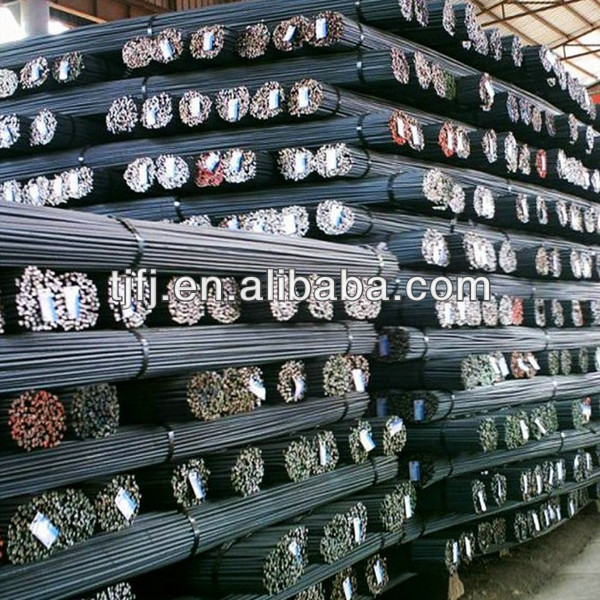 HRB335 hot rolled coiled reinforced bar steel price in China 10mm diameter