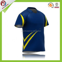 China make cricket jersey with sublimated printing pattern